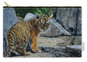 Siberian Tiger Cub Carry-all Pouch