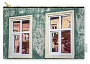 Sibiu Window Reflections - Romania Carry-all Pouch