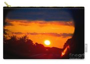 Side Mirror Sunset Carry-all Pouch