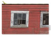 Side Of An Old Red Barn Quechee, Vermont Carry-all Pouch