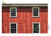 Side Of Barn And Windows At Old World Wisconsin Carry-all Pouch
