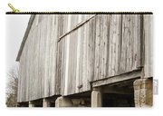 Side Of The Amana Farmer's Market Barn Amana Ia Carry-all Pouch