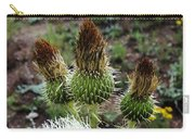 Side Thistle  Carry-all Pouch
