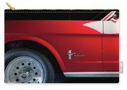 Side View Of 1964 Ford Mustang Carry-all Pouch
