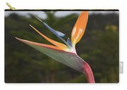 Side View Of A Beautiful Bird Of Paradise Flower  Carry-all Pouch