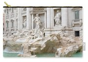 Side View Of The Trevi Fountain In Rome Carry-all Pouch