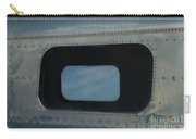 Side Window Beechcraft Model 18-signed-#8604 Carry-all Pouch