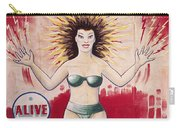 Sideshow Poster, C1965 Carry-all Pouch