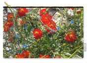 Sidewalk Flowers Carry-all Pouch