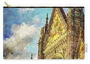 Siena Duomo Facade In The Sunset Carry-all Pouch
