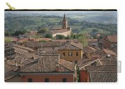 Sienna Rooftops Carry-all Pouch by Tom Reynen
