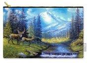 Sierra Mountain Meadow   Carry-all Pouch