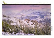 Sierra Nevada At Sunset Carry-all Pouch