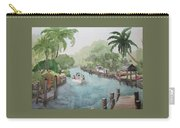 Siesta Key - Fishing On The Grand Canal Carry-all Pouch