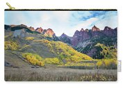 Sievers Peak And Golden Aspens Carry-all Pouch