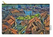Sighisoara From Above Carry-all Pouch