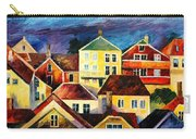 Sight From Above - Palette Knife Oil Painting On Canvas By Leonid Afremov Carry-all Pouch