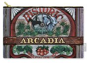 Sign - Welcome To Arcadia Carry-all Pouch
