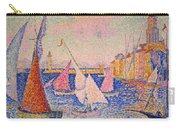Signac: St. Tropez Harbor Carry-all Pouch by Granger