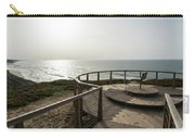 Silence And Solitude - A Special Sunset Throne High Above The Ocean Carry-all Pouch