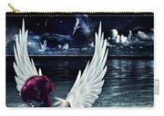 Silence Of An Angel Carry-all Pouch by Mo T