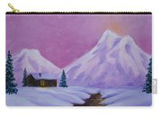 Silence Of Snow Carry-all Pouch