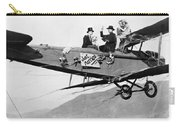 Silent Film Still: Stunts Carry-all Pouch