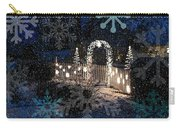 Silent Night Snow Carry-all Pouch