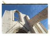 Silent Witness - Carmo Convent Roofless Ruin In Lisbon Portugal Carry-all Pouch