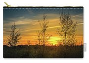 Silhouette By Sunset Carry-all Pouch