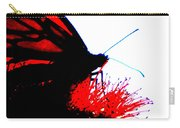 Silhouette Monarch With Red Carry-all Pouch