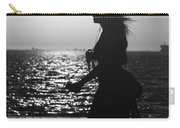 Silhouette Of A Woman Carry-all Pouch