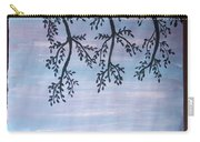 Silhouette Of Tree Carry-all Pouch