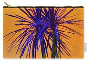 Silhouette On Orange Carry-all Pouch by Margaret Saheed