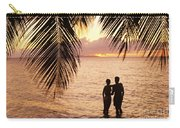Silhouetted Couple Carry-all Pouch