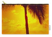 Silhouetted Palm Carry-all Pouch