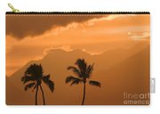 Silhouetted Palms Carry-all Pouch