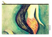 Silk Mermaid Carry-all Pouch