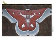 Silk Moth Carry-all Pouch
