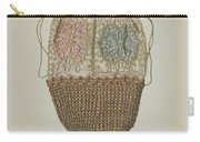 Silk-straw Reticule Carry-all Pouch