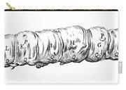 Silkworm, Malpighi, 1686 Carry-all Pouch