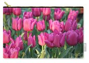 Silky Pink Tulips Carry-all Pouch