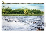 Silky Susquehanna River Carry-all Pouch