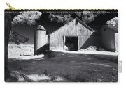 Silo In Black And White Carry-all Pouch