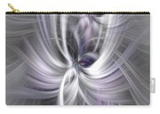 Silver Abstract Ascension. Mystery Of Colors Carry-all Pouch