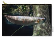 Silver Arowana Fish In Zoo Carry-all Pouch