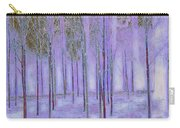 Silver Birch Magical Abstract  Carry-all Pouch