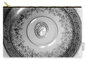 Silver Cameo Plate Carry-all Pouch