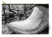 Silver Cowboy Boot Carry-all Pouch