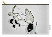 Silver Dollar Abstract Carry-all Pouch